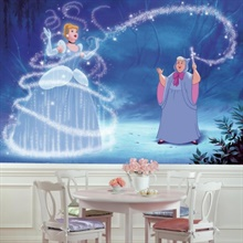 Disney Princess Cinderella Carriage XL Wallpaper Mural