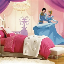 "Disney Princess Cinderella ""So This Is Love"" XL Wall Mural"