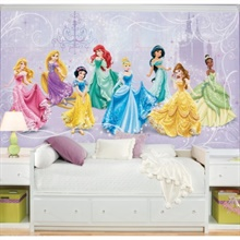 Disney Princess Royal Debut XL Wallpaper Mural