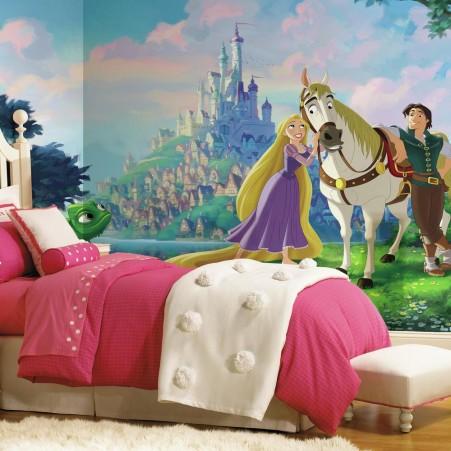 Disney Tangled XL Wallpaper Mural