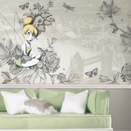 Disney Vintage Tinker Bell XL Wallpaper Mural