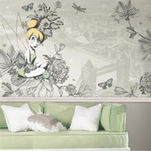 Disney Vintage Tinker Bell XL Wallpaper Mural