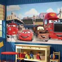 Disney·Pixar Cars Friends to the Finish XL Wallpaper Mural