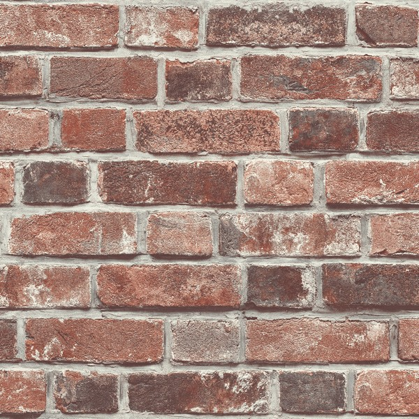 Nw31700 Distressed Red Brick Wallpaper Boulevard