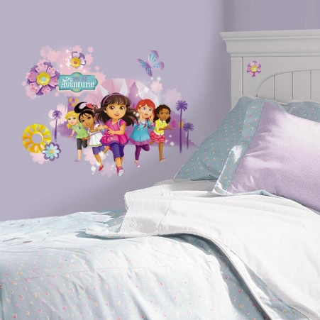 Dora and Friends Peel and Stick Wall Graphic