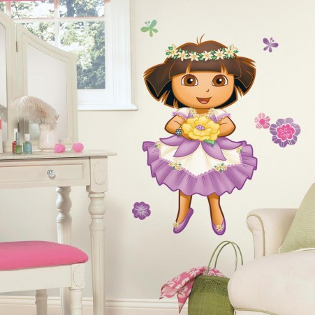 Dora's Enchanted Forest Giant Wall Decal