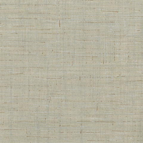 Eanes Grey Fabric Weave Texture Wallpaper