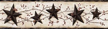 Ebony Heritage Tin Star Border