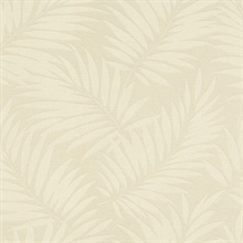 Edomina Beige Palm Wallpaper