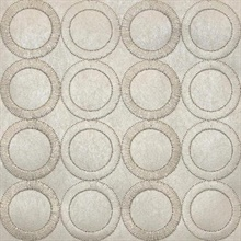 Embroidered Circles
