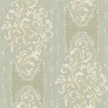 Embroidered Damask