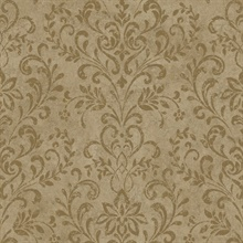 Espresso Country Damask