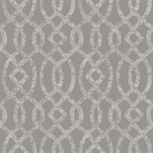 Ethereal Grey Trellis
