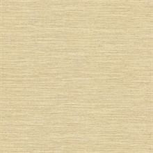 Everest Yellow Faux Grasscloth