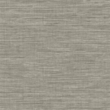 Exhale Grey Faux Grasscloth
