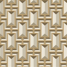 Facet Geo Wallpaper - Gold