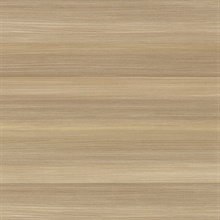 Fairfield Gold Horizontal Stripe Textured Vinyl Wallpaper