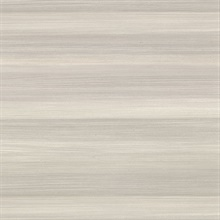 Fairfield Grey Horizontal Stripe Textured Vinyl Wallpaper
