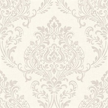 Falstaff Cream Damask Wallpaper