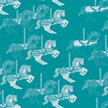 Fayre's Fair - Lido colourway wallpaper