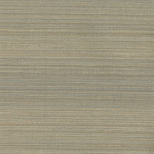 Fernie Brown Challis Silk Wallpaper