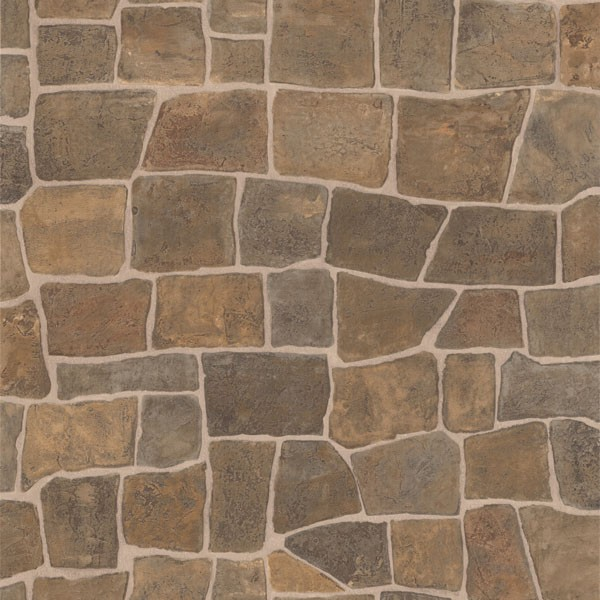 Flagstone Taupe Slate Path 2718 44151 Modern Design Wallpaper