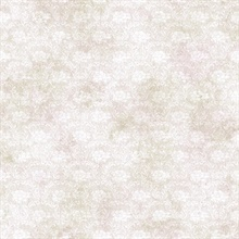 Florra Grey Faux Textured Damask Wallpaper