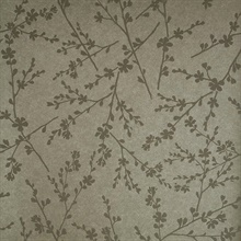 Forsythia Brass Twiggy Wallpaper