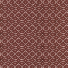 Frances Burgundy Ribbon Trellis Wallpaper