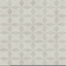 Frey Light Grey Geometric Wallpaper