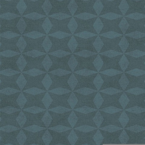 Frey Teal Geometric Wallpaper