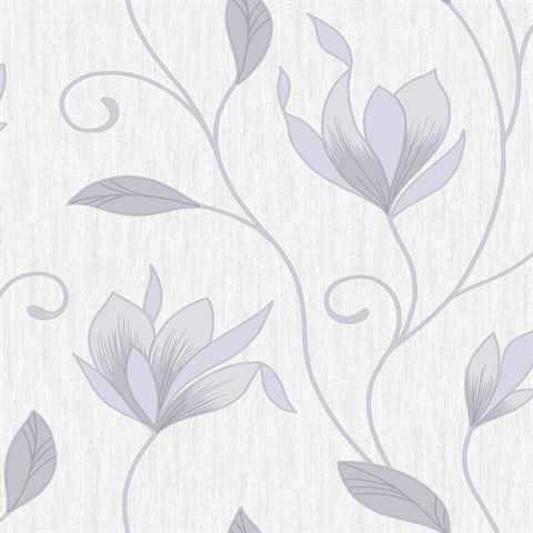 Gallagher Ivory Floral Trail Wallpaper