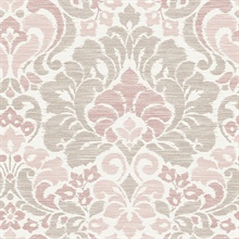 Garden of Eden Pink Damask