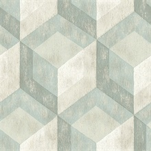 Geometric Green Rustic Tile