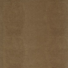 Gharial Light Brown Crocodile Skin Textured Wallpaper