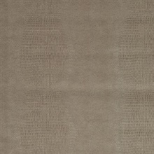 Gharial Light Grey Crocodile Skin Textured Wallpaper
