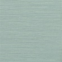 Giana Turquoise Horizontal Silk Wallpaper