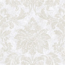 Giles Ice Patina Damask