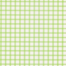 Gingham Green Checkered Pattern Wallpaper