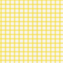 Gingham Yellow Checkered Pattern Wallpaper