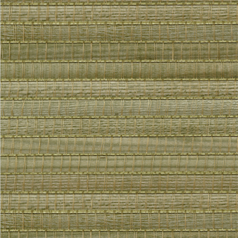Gisei Green Grasscloth
