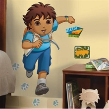 Go Diego Go! Giant Wall Decal
