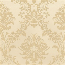 Gold Brixham Raised Damask