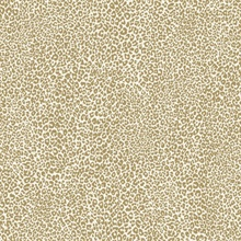 Gold Leopard King Animal Skin Wallpaper
