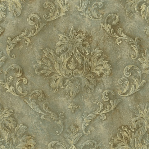 Gold Textured Scroll