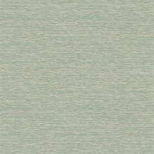 Green Challis Woven Wallpaper