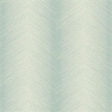 Green Commercial Shibori Chevron Wallpaper