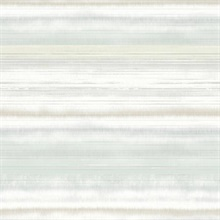 Green Fleeting Horizon Horizontal Stripe Wallpaper