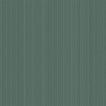 Green Linen Strie Wallpaper