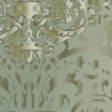 Green Sugdin Damask